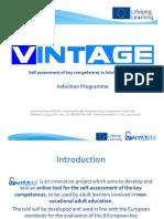 VINTAGE Induction Programme