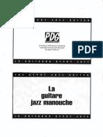 RomaneLa Guitare Jazz Manouche Le Livret DVD