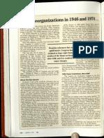 Big Reorganizations of 1946 and 1970 - Inside Congress - Congressional Quarterly - June 1992