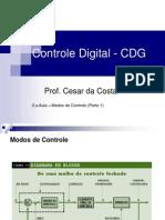 2.a Aula_CDG_Controle de Processo_ Modos de Controle