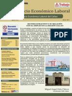 Empleo en el sector extractivo de la región Callao