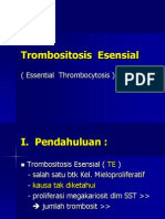 (16) Trombositosis  Esensial