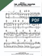 Mecano - Mujer Contra Mujer (Piano Single)
