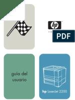 Manual Hp 2200 Guia Del Usuario