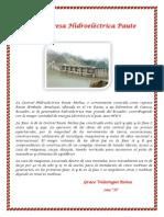 Represa Hidroeléctrica Paute