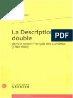 La Description double dans le roman français des Lumières by Christof Schöch