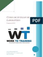 Curso de Auxiliar de Laboratório 2010