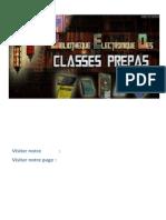 Tout Le Cours Electrocinetique Pcsi Mpsi Ptsi
