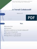 Cours 1Travail Collaboratif