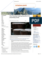 The Powerful Healing Benefits of a Drumming Circle