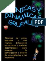 TECNICAS DINAMICAS GRUPALES Seminario vs Congreso vs Presentacion Etc 5776-1