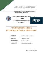 Codigo Internacional y Peruano