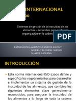 Presentacion ISO 22000