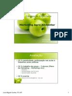 Marketing Agro-alimentar