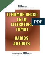 El Humor Negro en La Literatura Tomo i
