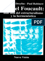 Dreyfus Hubert L Rabinow Paul Foucault Mas Alla Del Estructuralismo y La Hermeneutica