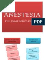 Anestesia Enfermeria