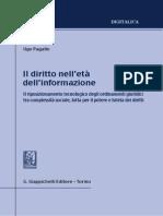 Il diritto nell'età dell'informazione (U. Pagallo, 2014)