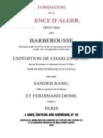Fondation de La Régence d'Alger 1