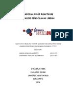 Laporan Akhir Praktikum Analisis Pengolahan Limbah