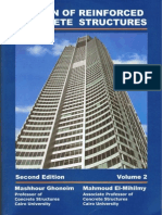 Design of Reinforced Concrete Structure - Volume 2 - DR. Mashhour a. Ghoneim