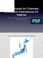 A Sharing of Two Studies of Japan Rural Art Festival
