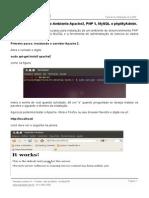 Apache Mysql Php Linux