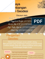 Upaya Pengembangan Keilmuan Geodesi(ppt)