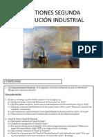 Cuestiones Segunda Revolución Industrial
