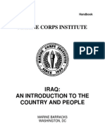 US Marine Corps Iraq and Introduction to the Country and People Handbook
