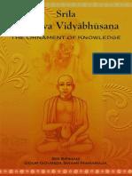 Baladeva Vidyabhusana Booklet