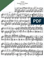 Diabelli - Sonatinas Op 151 No 1 - 4 (23P)