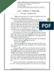 FYBA. Unit 2 New Revised From 2012-13 Methods of Philosophy प्रथम वर्ष प्रकरण दुसरे तत्वज्ञानाच्या पद्धती, नवीन २०१२-१३ पासून.pdf