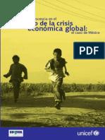 La Ninez y La Crisis Global Caso Mexico