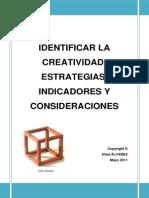 Identificar La Creatividad