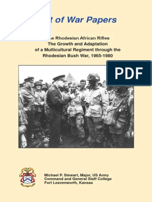The Rhodesian African Rifles Queens colours flag