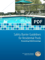 Safety Barrier Guidelines for Pools