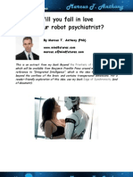 Will you fall in love with your robot psychiatrist?