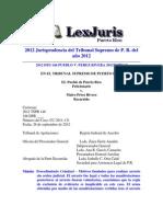 2012 Dts 146 Pueblo v. Perez Rivera 2012tspr146 Arresto y Exclusión