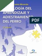 Psicología Del Aprendizaje y Adiestramiento Del Perro 2a Edición