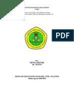Sistem Informasi Manajemen ( Sim )