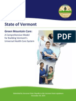 Green Mountain Care Final Report Dec. 30, 2014