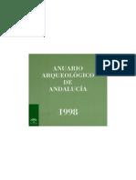 INTERVENCION ARQUEOLÓGICA EN EL ANFITEATRO DE ITALICA. CAMPAÑA DE 1998. Javier Verdugo Santos. Enrique Larrey Hoyuelos. Francisco J. Ramón Girón