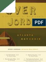 Over Jordan - Boy Choir