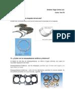 Cuestionario sobre reparación de motores