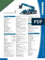 Gradall 534D10 Telehandler Product Brochure