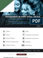 Plano de mídia online e offline