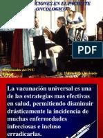Vacunación en el paciente con cancer