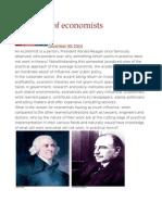 Influence of economists.odt