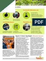 Spark-Y 2014 Year End Newsletter